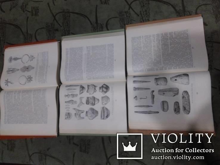 Архелогія Українскої РСР -все 3 тома, фото №6