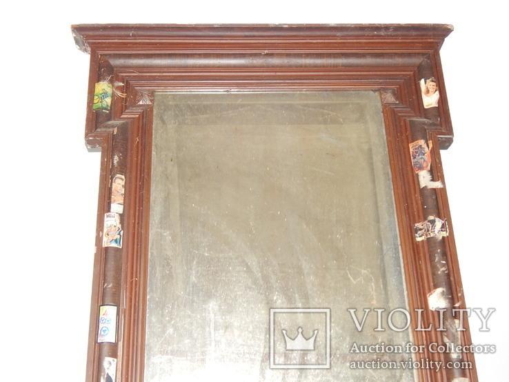 Рама от старинного зеркала 2094, фото №3