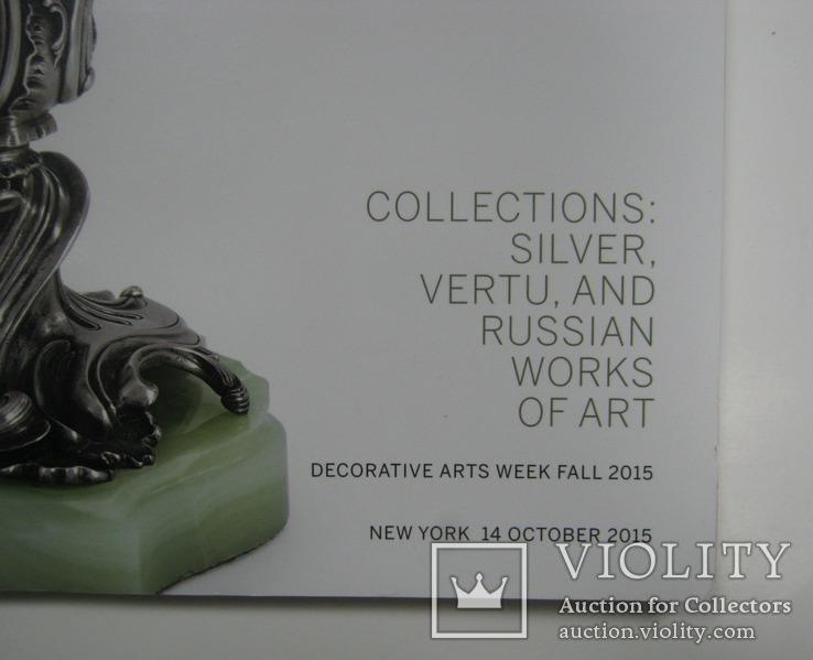 Ауцкионный каталог Sothebys 14/10/2015 New York, фото №4