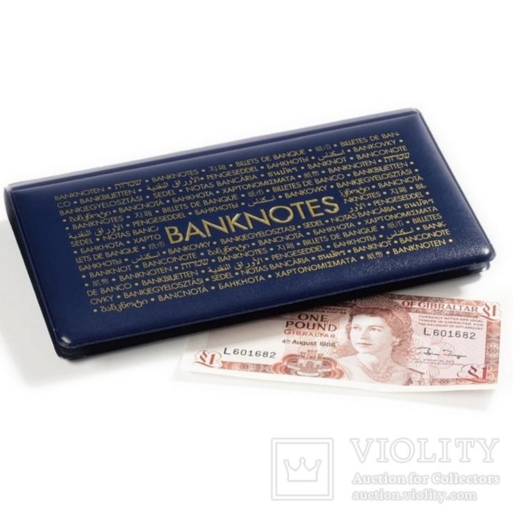 Альбом для банкнот на 20 листов с чистыми листами лехтурм германия, фото №2