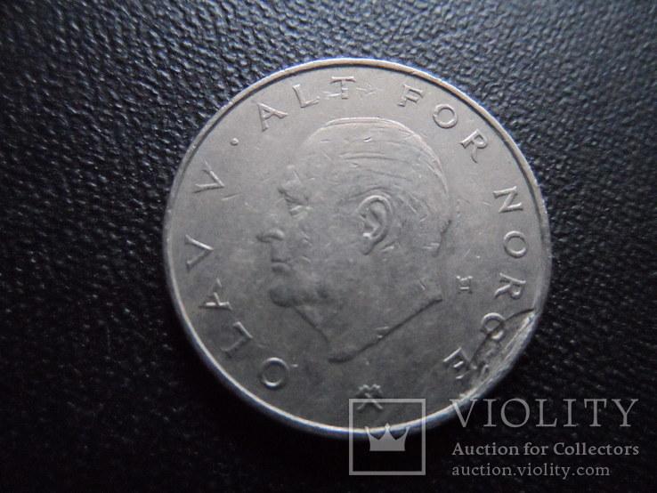 1 крона 1983  Норвегия    (И.6.6)~, фото №4