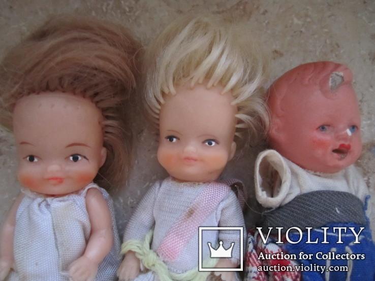 6 маленьких кукол одним лотом., фото №5