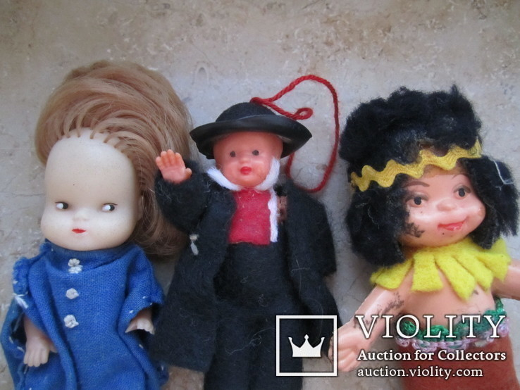 6 маленьких кукол одним лотом., фото №6