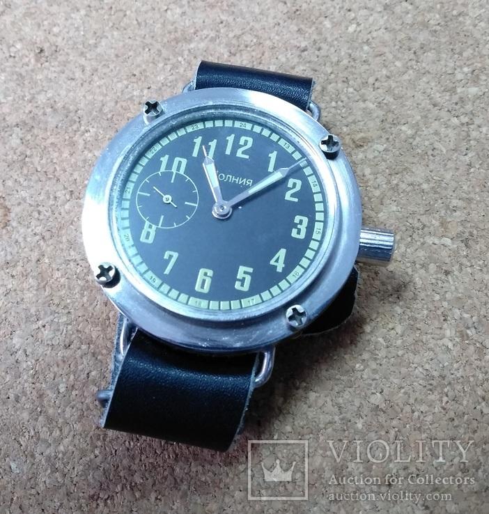 Часы механические Молния, фото №5