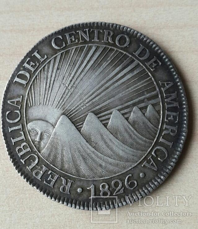 8 реалов, 1826г., Коста-Рика
