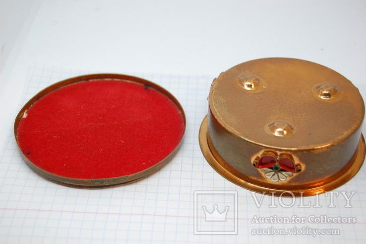 Шкатулочка. Металл. СССР, фото №6