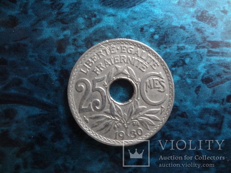 25 сантим 1930  Франция     (10.8.5)~, фото №3