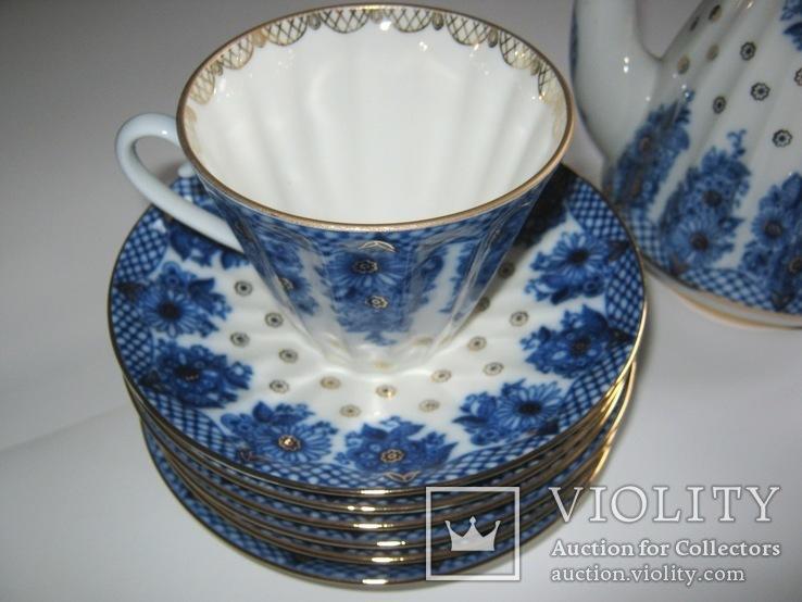 Комплект ( сервиз) чайный ЛФЗ. Корзиночка, фото №4