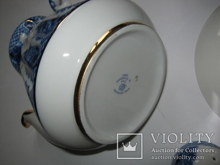 Комплект ( сервиз) чайный ЛФЗ. Корзиночка, фото №9