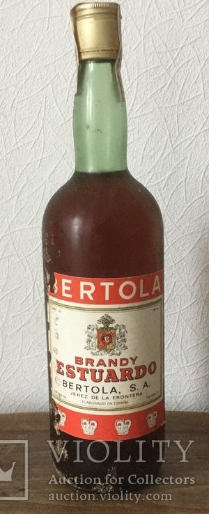 """Хересний бренді,,Estuardo"""".Іспанія.1978р."""