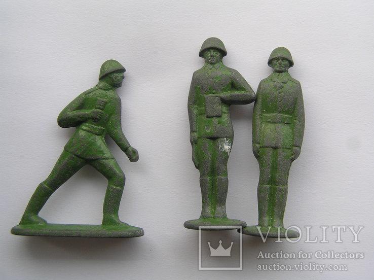 Оловянные солдатики 7 шт, фото №3