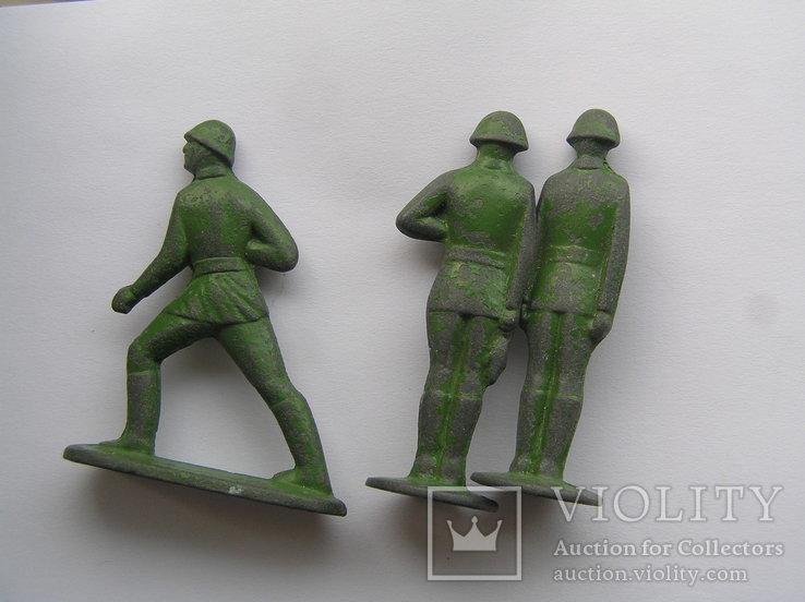 Оловянные солдатики 7 шт, фото №4