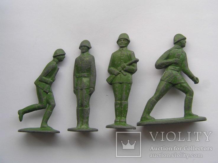 Оловянные солдатики 7 шт, фото №5