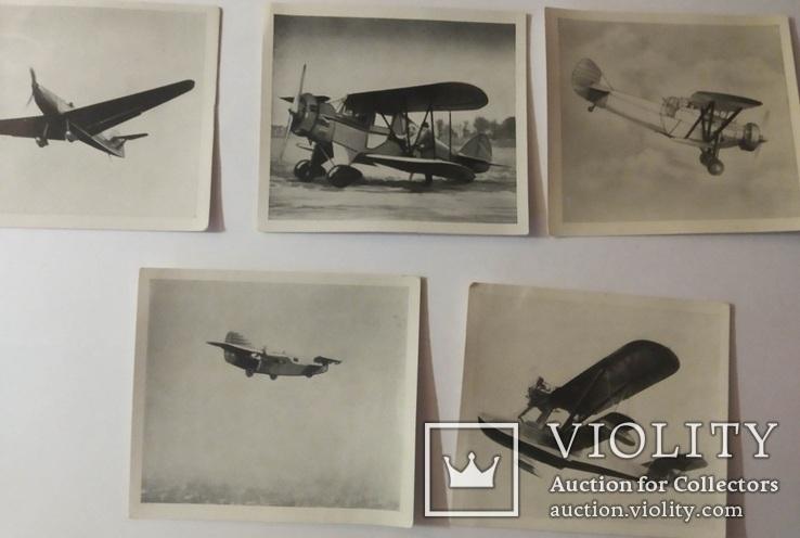 Сигаретные вкладыши 55 шт. самолёты люфтваффе, Austria Munchen, Kurzserie, 1930-1940 г.