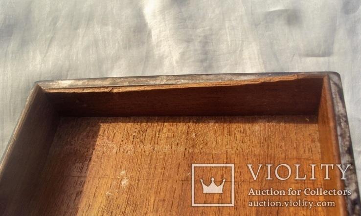 Серебряная шкатулка, 265 грамм., фото №11