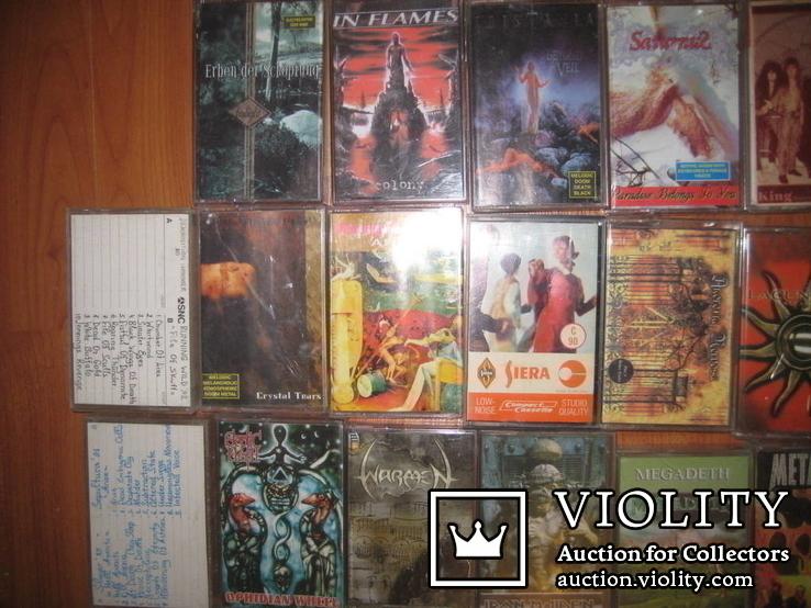 Аудиокассеты тяжелый рок зарубежного и отечественного 129 шт, фото №5