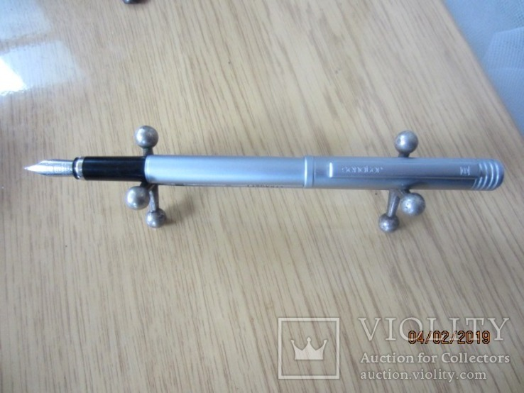 Перьевая ручка Сенатор Германия хром Металл, фото №2