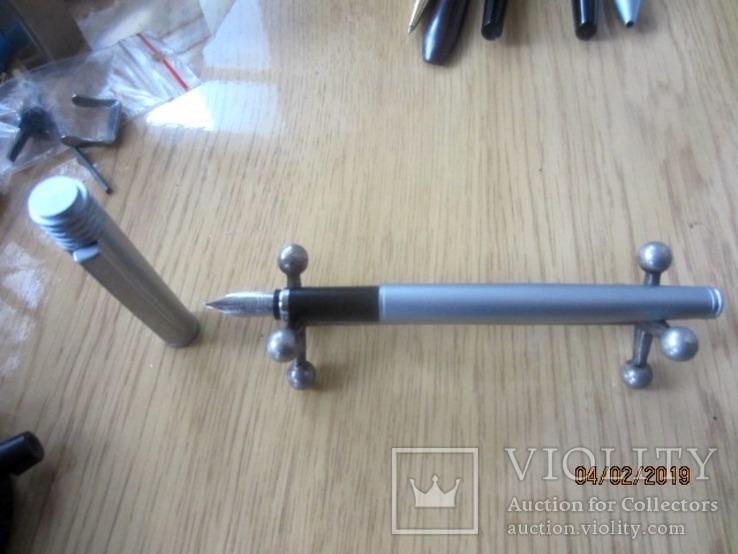 Перьевая ручка Сенатор Германия хром Металл, фото №9