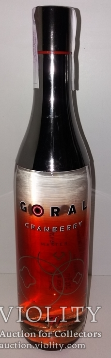 Водка Goral Vodka Master Cranberry, Словакия, фото №2