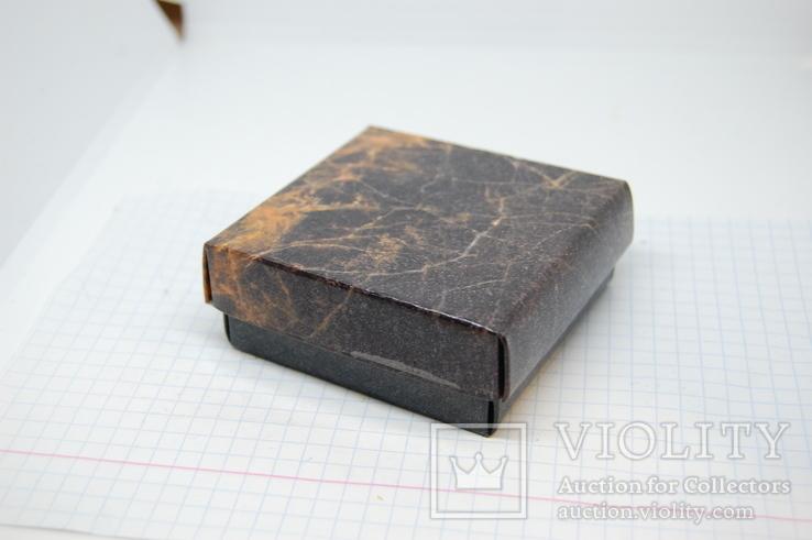 Коробочка для украшений. 68х68х25мм, фото №3