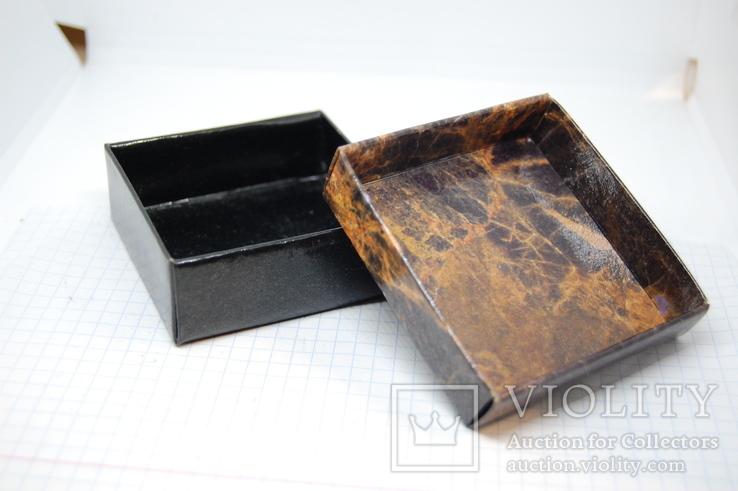 Коробочка для украшений. 68х68х25мм, фото №6