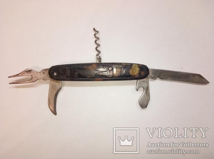 Нож складной СССР для туризма, фото №5