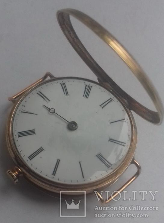 Часы наручн. золот. корпус с эмалями