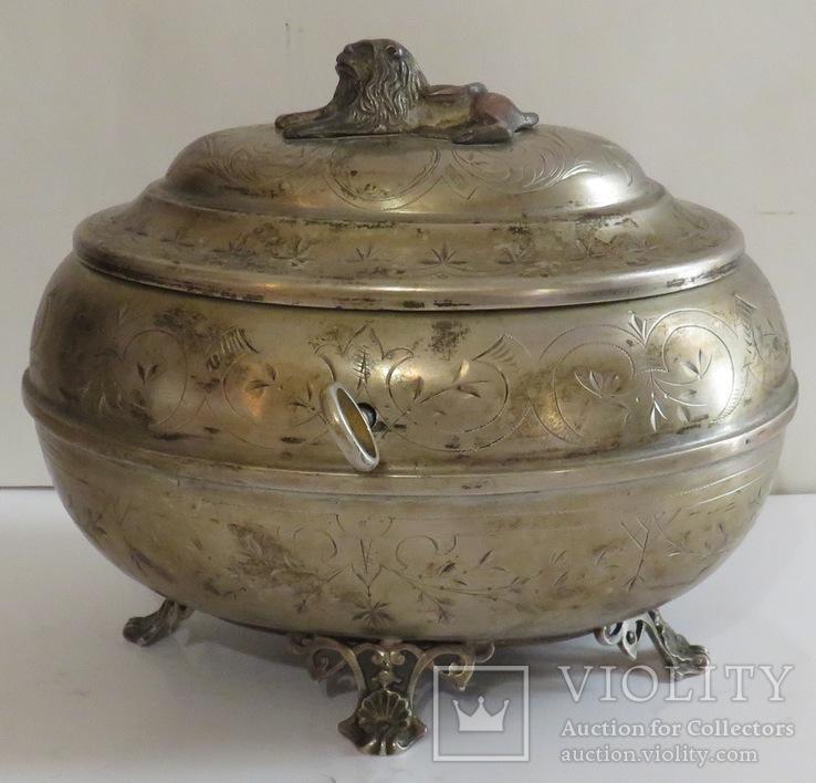 Серебряная шкатулка, Австрия, 70-ые годы XIX ст., фото №2