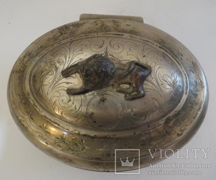 Серебряная шкатулка, Австрия, 70-ые годы XIX ст., фото №8