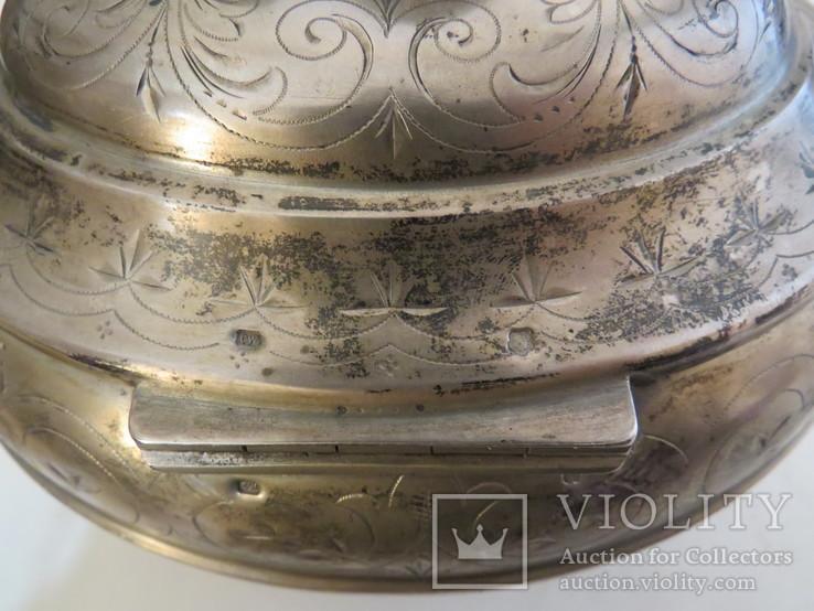 Серебряная шкатулка, Австрия, 70-ые годы XIX ст., фото №12