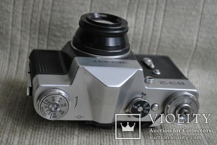 Фотоаппарат Зенит ВЭ-2, № 000189, выпуск 1975 год., фото №4
