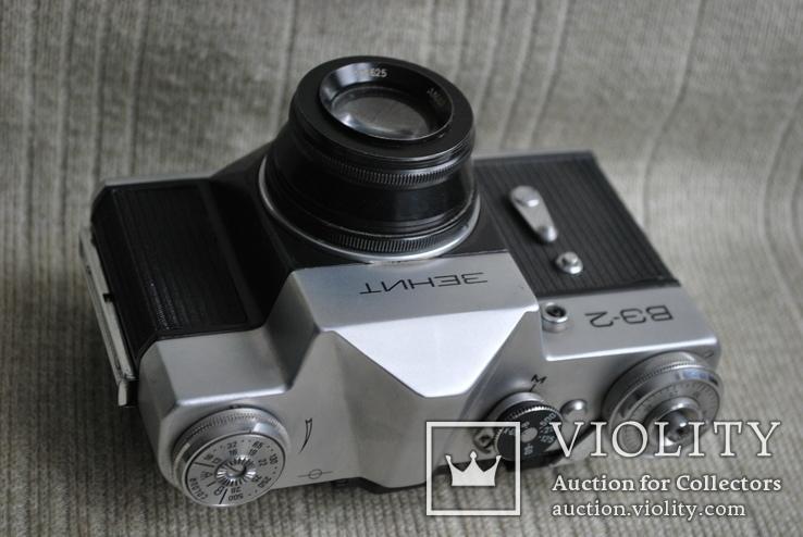 Фотоаппарат Зенит ВЭ-2, № 000189, выпуск 1975 год., фото №5