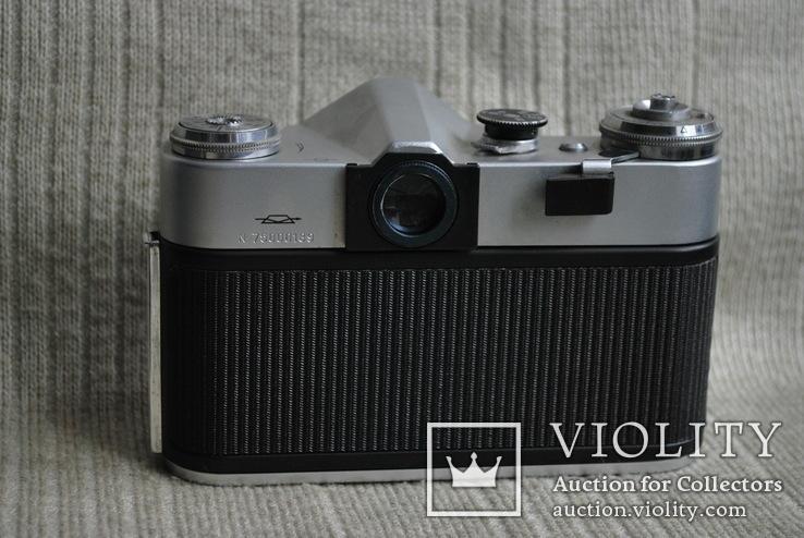 Фотоаппарат Зенит ВЭ-2, № 000189, выпуск 1975 год., фото №7