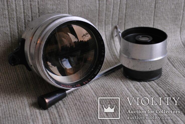 PENTOVAR 16 2.8/ 15-60mm 5.6/30-120mm для кинокамеры PENTACON .