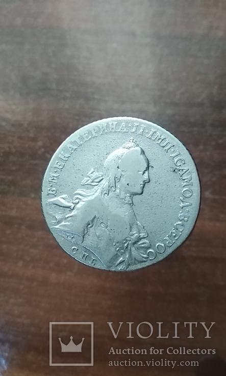 Рубль 1762 року (СПБ-НК)