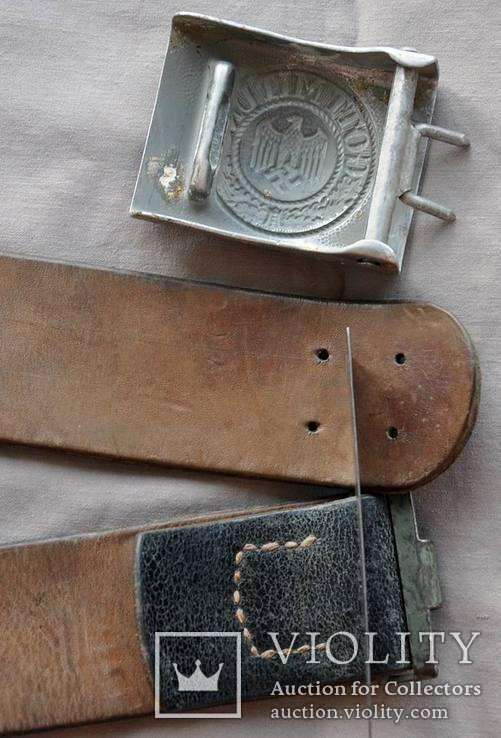 Ремень с пряжкой вермахт, фото №6