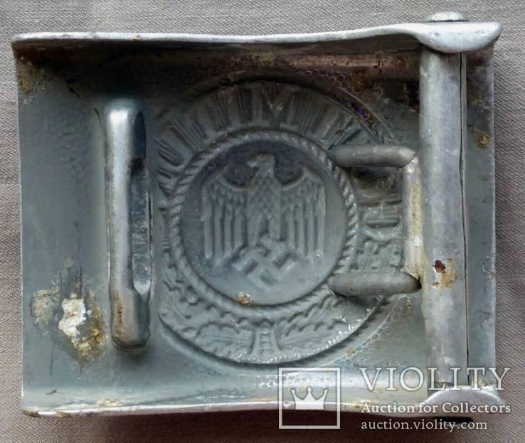 Ремень с пряжкой вермахт, фото №8
