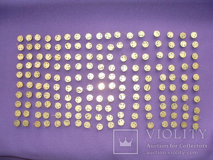 Транзисторы 170 штук желтые ,три ноги.(174 грамм)