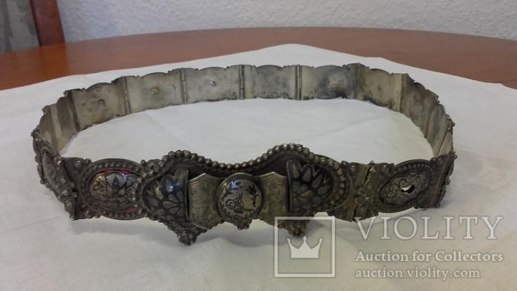 Османский пояс из серебра, фото №4