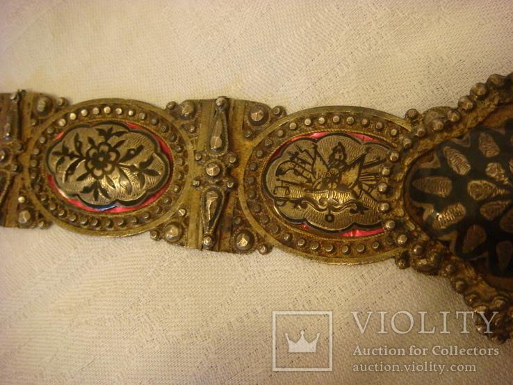 Османский пояс из серебра, фото №9