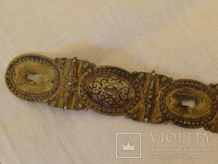 Османский пояс из серебра, фото №10