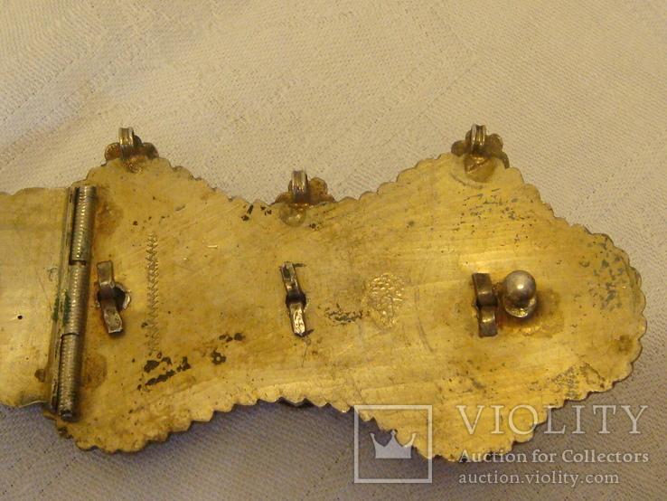 Османский пояс из серебра, фото №11