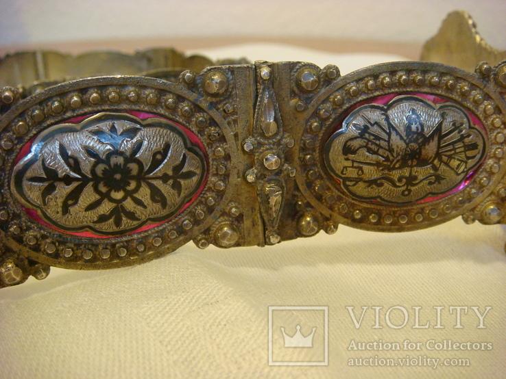 Османский пояс из серебра, фото №13
