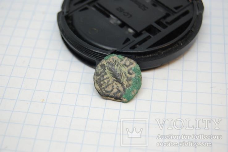 Монета Прокуратор Порций Фест, прута, время Нерона. Иудаика