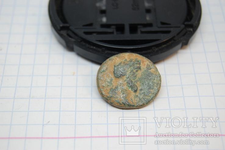 Монета  Марк Аврелий, г. Неаполь (Самария).