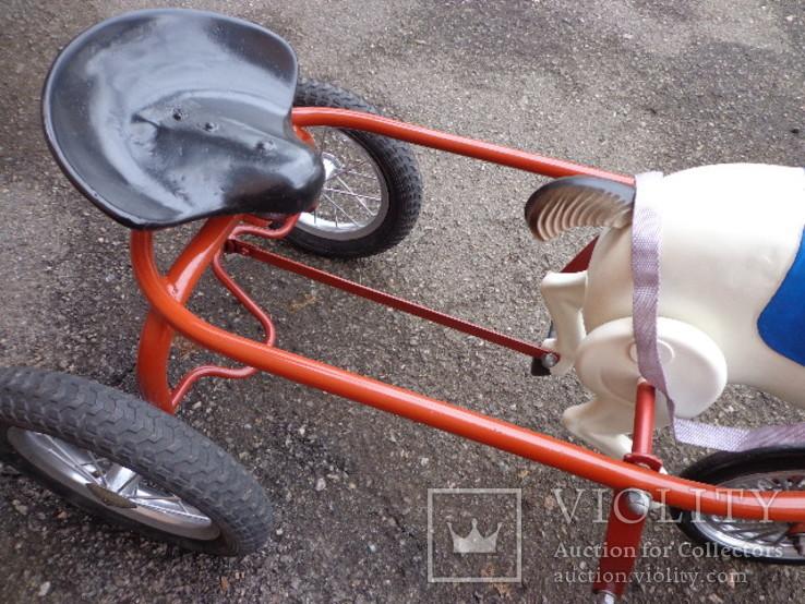 Лошадка (велосипед) педальная., фото №7