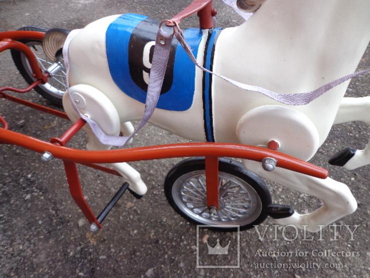 Лошадка (велосипед) педальная., фото №9