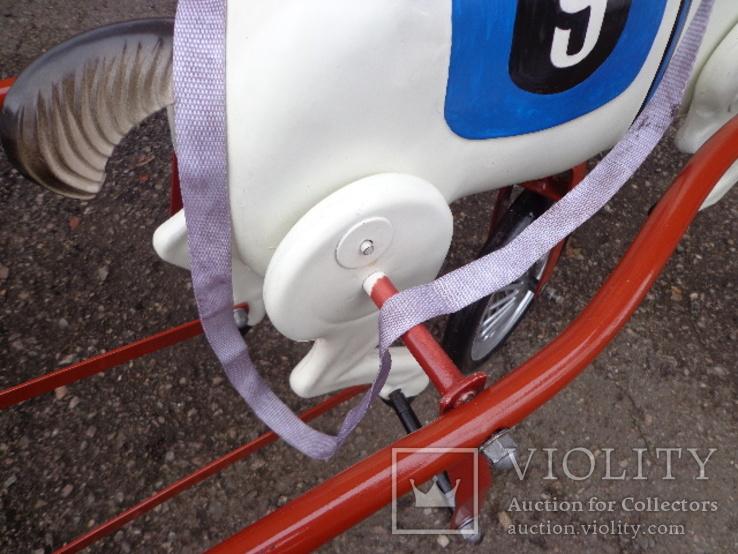 Лошадка (велосипед) педальная., фото №11