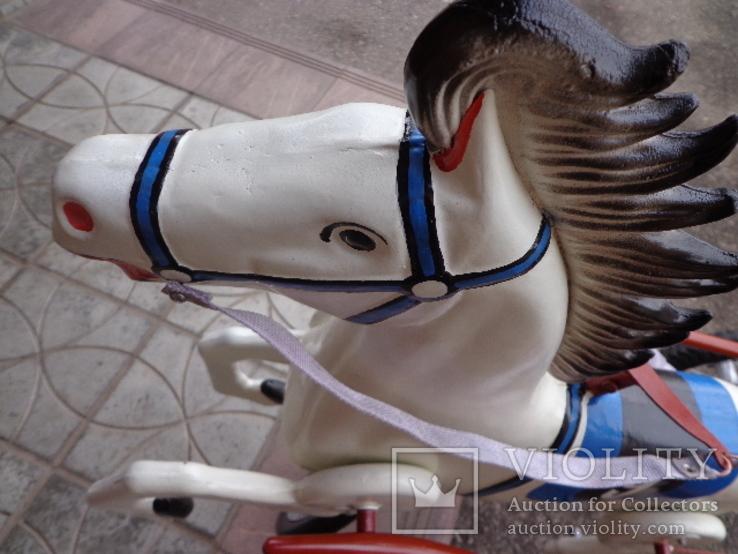 Лошадка (велосипед) педальная., фото №12