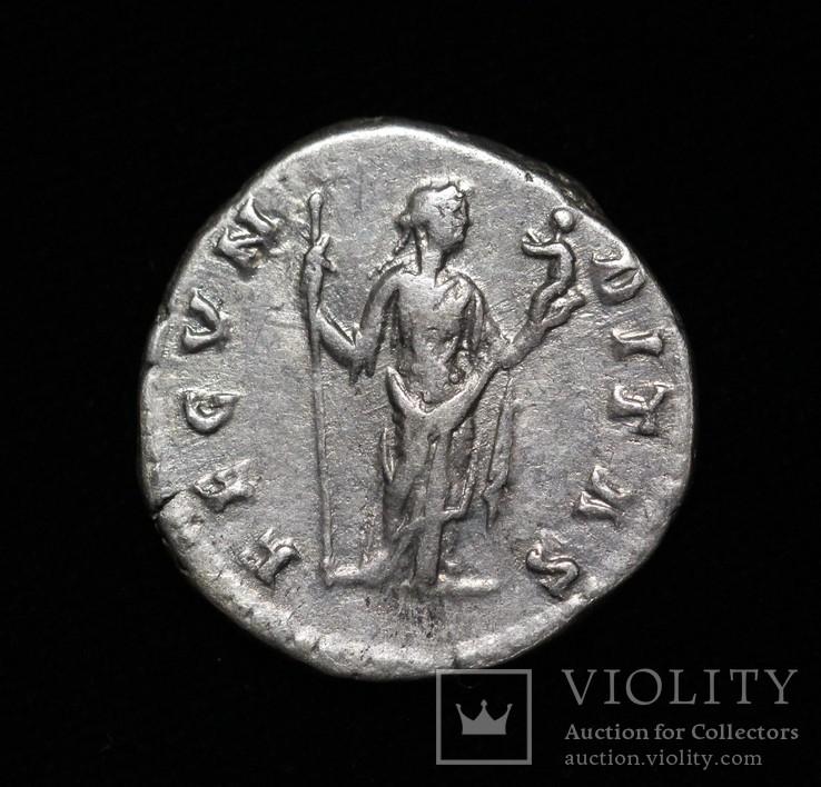 Фаустина II денарий RIC 677, фото №3